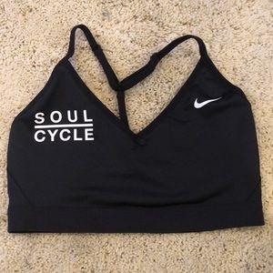 Black Nike x SoulCycle Sports Bra